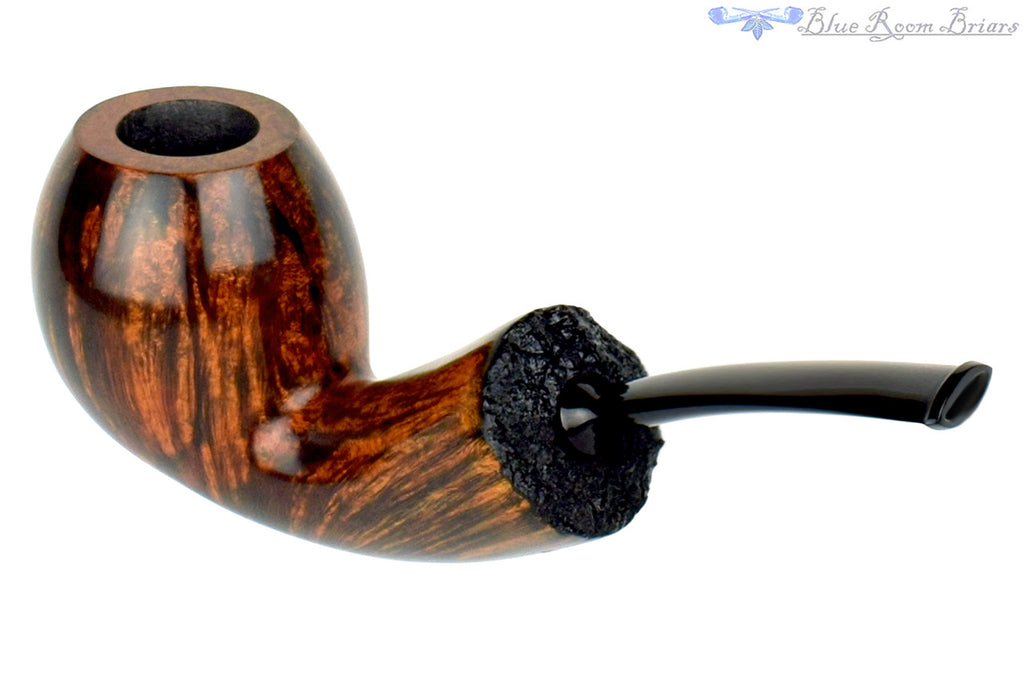 Benjamin Westerheide Pipe 1/4 Bent Egg with Plateau and Military Mount at Blue Room Briars