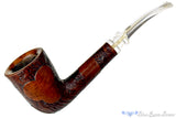 Blue Room Briars presents GBD Collector Tapestry 9622 (1960s-70s Make) 1/8 Bent Partial Sandblast Dublin with Perspex Estate Pipe