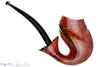 Blue Room Briars is proud to present this Alexa Pipe by Dragomir Aleksic 3/4 Bent Whale