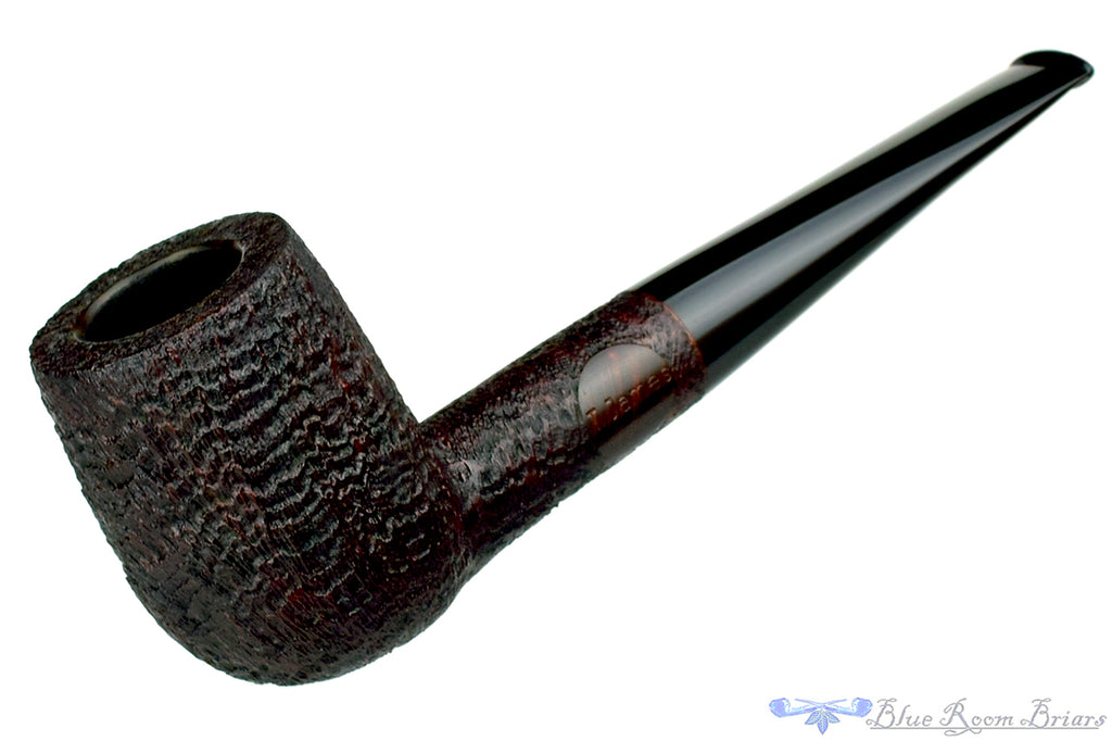 Blue Room Briars is proud to present this Thomas James Pipe Large Ring Blast Billiard