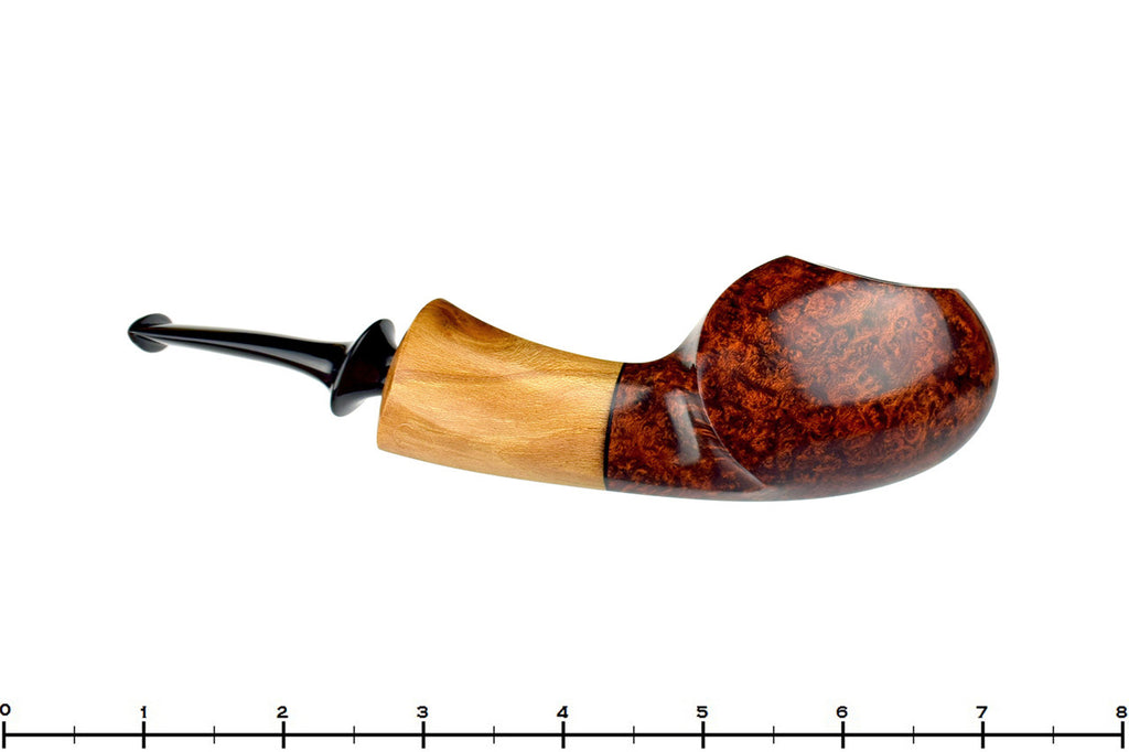 Blue Room Briars is proud to present this Dirk Heinemann Pipe Blowfish with Wood Ferrule