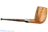 Blue Room Briars is proud to present this Nate King Pipe 560 Natural Smooth Cross-Cut Billiard with Titanium