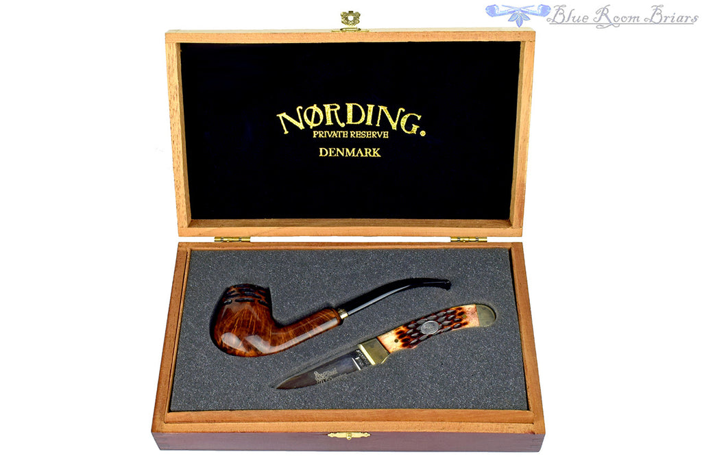 Nording Private Reserve 2009 Pipe & Knife Set with Unsmoked Estate Pipe