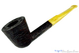Blue Room Briars is proud to present this Jerry Crawford Pipe Strawberry Wood Diamond Shank Dublin with Vintage Bakelite