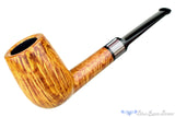 Blue Room Briars is proud to present this Jesse Jones Pipe 3520 Saddled Tall Billiard with Fordite