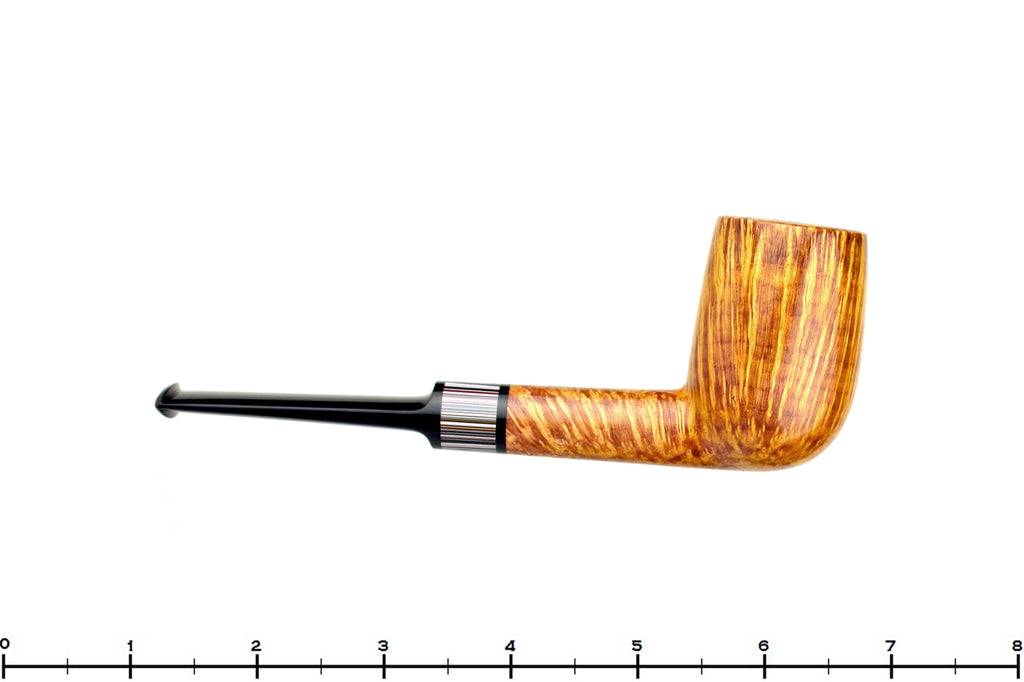 Jesse Jones Pipe 3520 Saddled Tall Billiard with Fordite