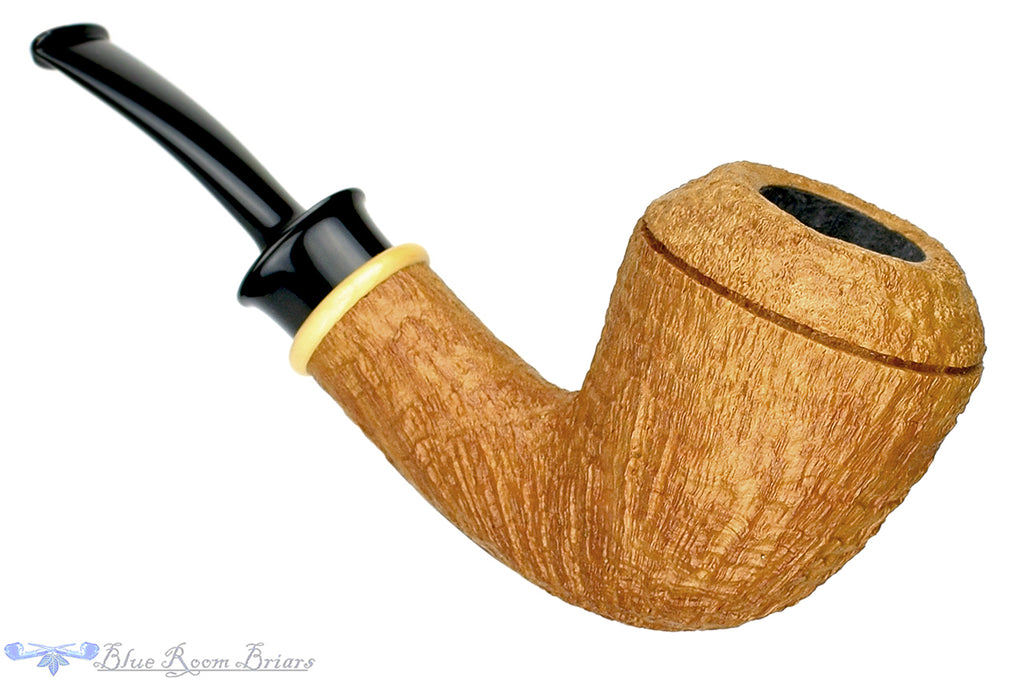 Blue Room Briars is proud to present this Bill Shalosky Pipe 376 Ring Blast Rhodesian with Boxwood