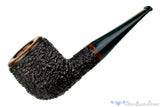 Blue Room Briars is proud to present this Todd Harris Pipe Large Rusticated Pot with Blue Brindle