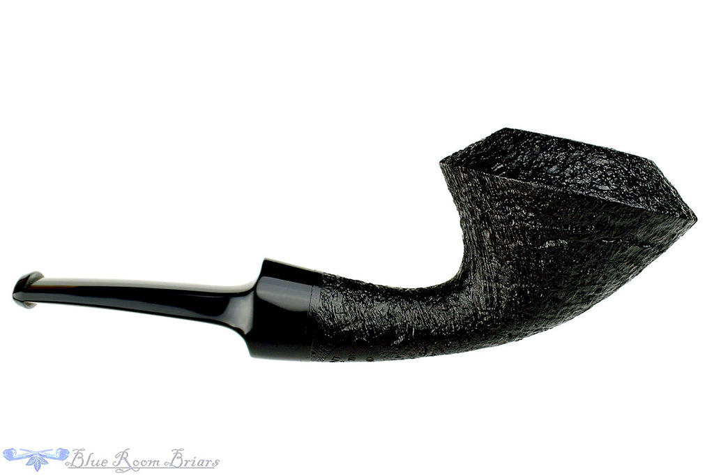 Blue Room Briars is proud to present this Vermont Freehand Pipe Black Blast Rhodesian Norsedog