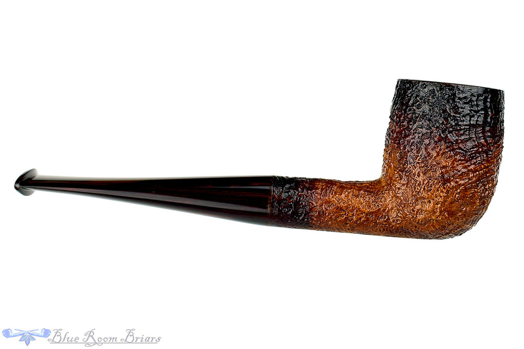 Jesse Jones Pipe Fume Sandblast Billiard with Brindle