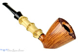 Blue Room Briars is proud to present this Jesse Jones Pipe Sitter Dublin with Plateau and Bamboo