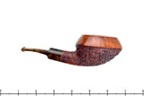Blue Room Briars Pipe Partial Sandblast Rhodesian with Tortoise Shell