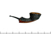 Blue Room Briars is proud to present this David Huber Pipe Partial Sandblast Rhodesian