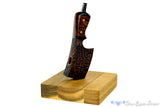 Blue Room Briars is proud to present this Jesse Jones Pipe Cleaver with Cutting Block Stand