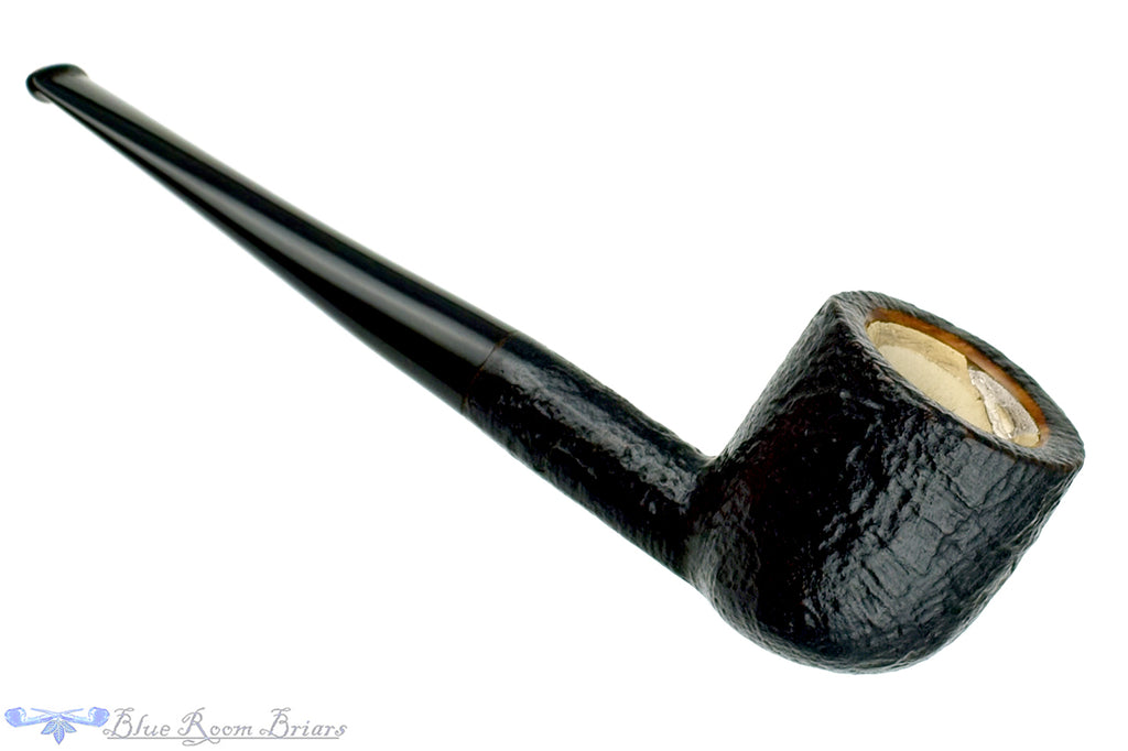 Blue Room Briars is proud to present this Mastercraft Meerschaum Lined Sandblast Pot Sitter Estate Pipe