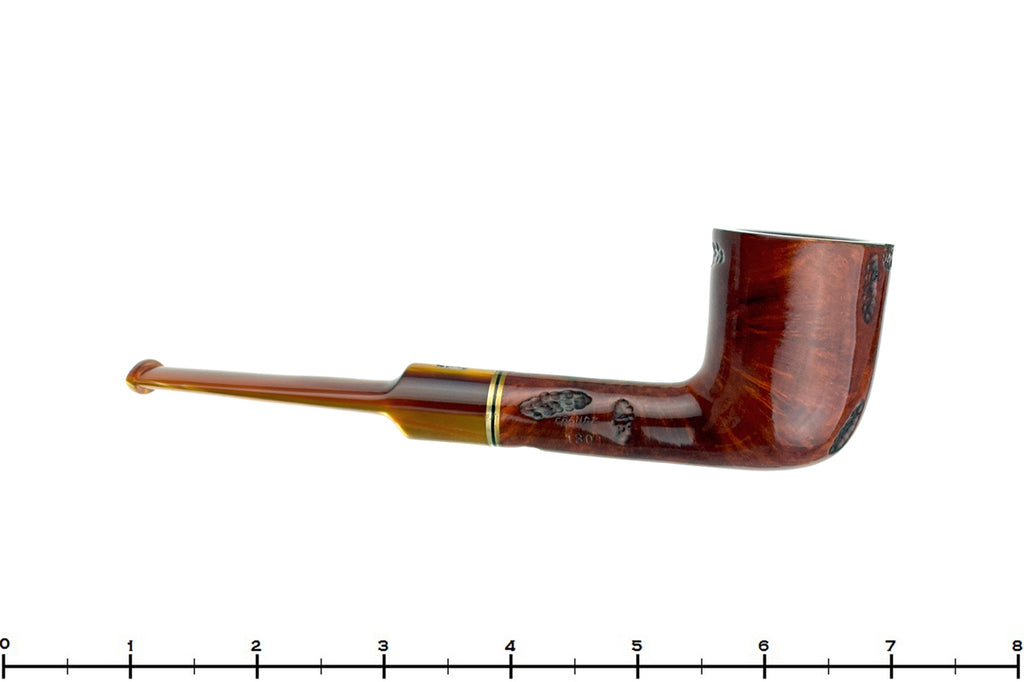 Blue Room Briars is proud to present this Jobey Band 130 Spot Carved Dublin with Brass Estate Pipe