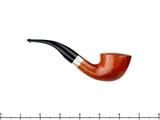 T. Cristiano Pipe Metamorfosi A509 (9mm Filter) 1/4 Bent Dublin with Silver (TCP161420)