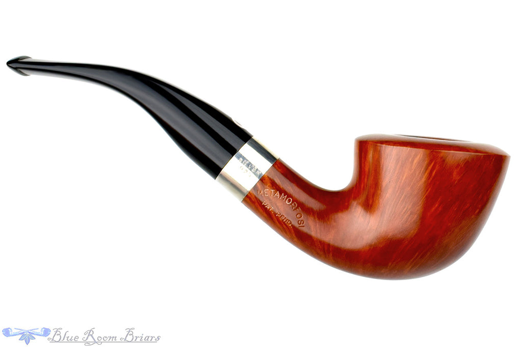 T. Cristiano Pipe Metamorfosi A509 (9mm Filter) 1/4 Bent Dublin with Silver at Blue Room Briars