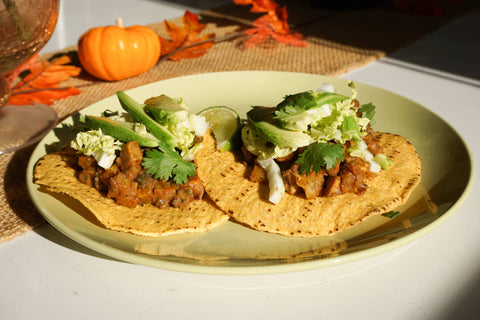 Sweet Potato Mole Tostada - Snow Monkey