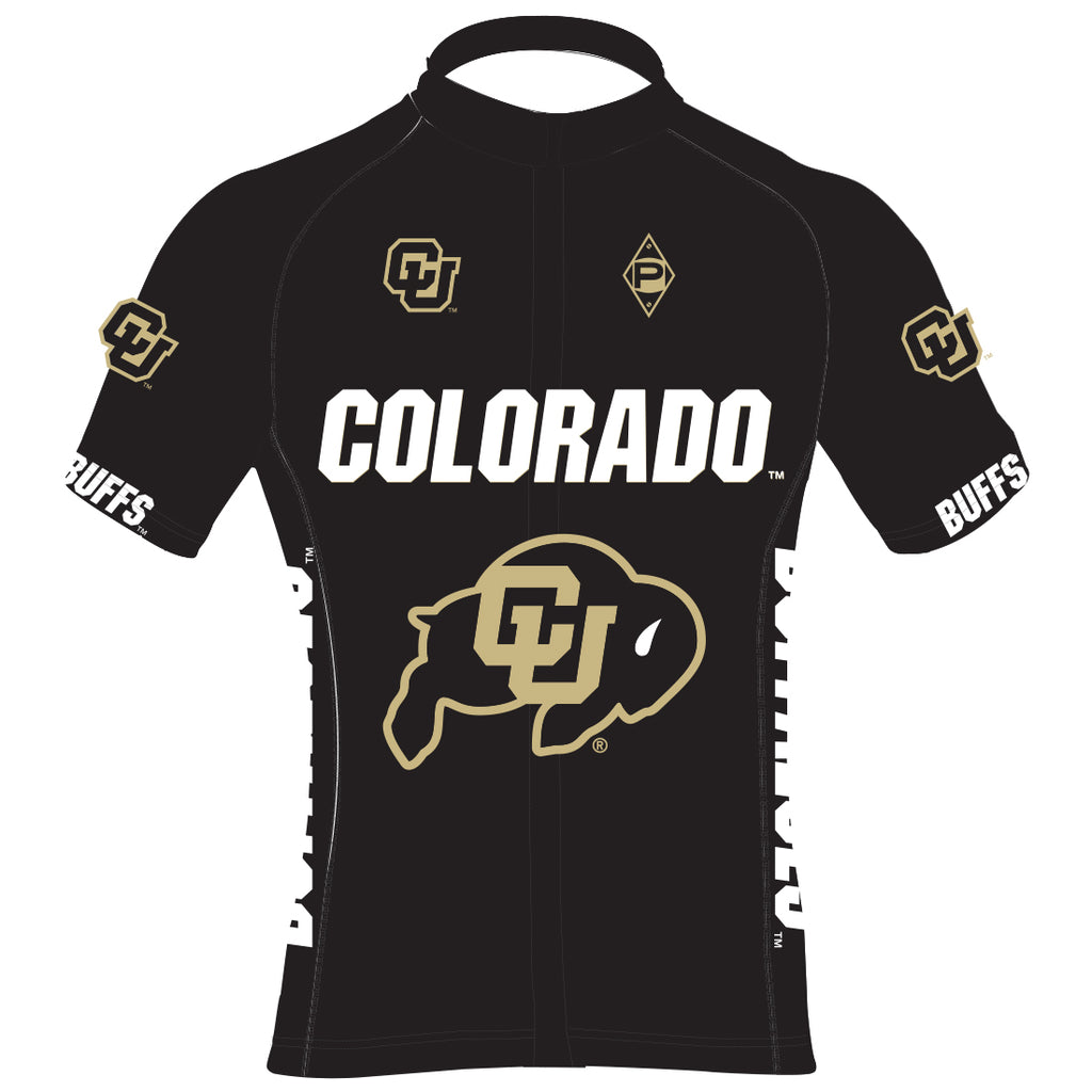 CU Cycling Bullet Jersey - Black