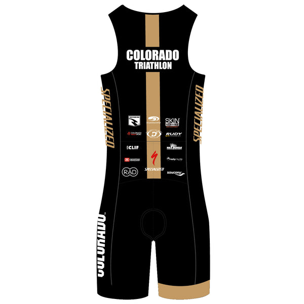 CU Triathlon Back Zip Tri Suit (Men's/Women's)