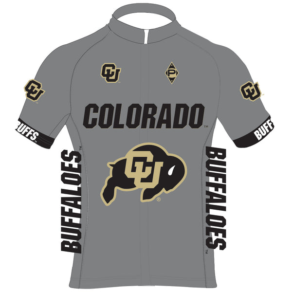 CU Cycling Fan Bullet Jersey - Grey
