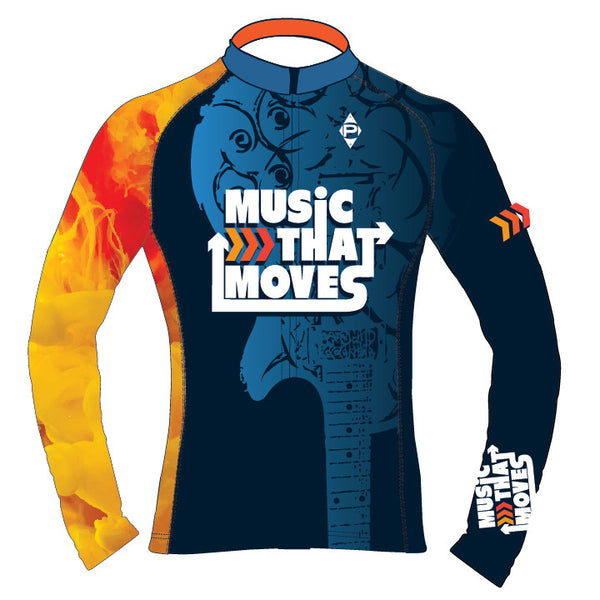 Music That Moves Long Sleeve Thermal Jersey