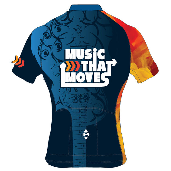 Music That Moves Bullet Short Sleeve Jersey (Men's/Women's)