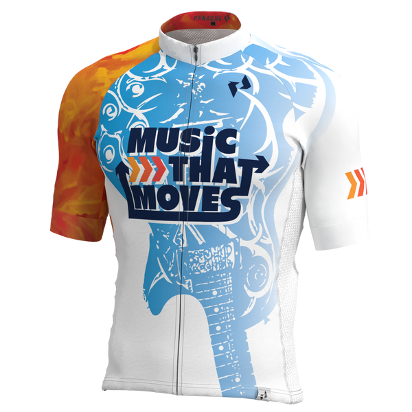 Music That Moves WHITE Short Sleeve Jersey (Men's/Women's)