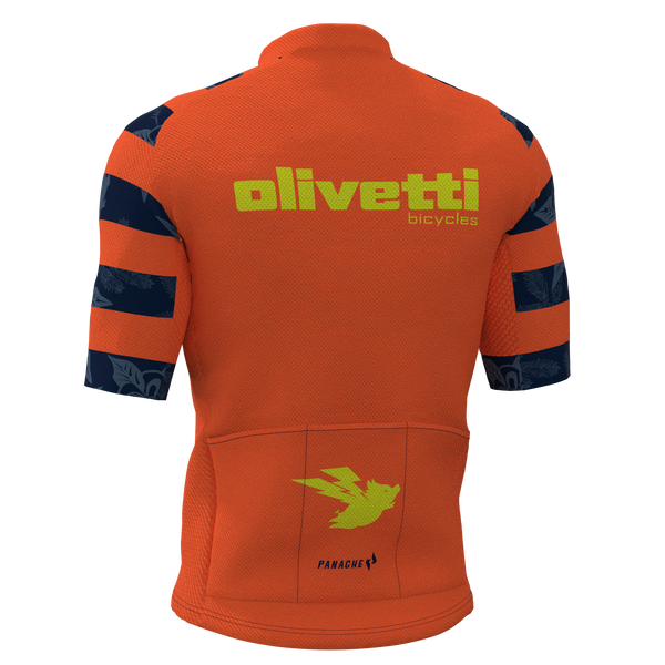 OLIVETTI - ORANGE Panache Pro Jersey - MEN