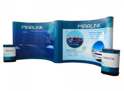 10'x20' pop up trade show displays