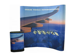 8'x10' pop up trade show displays