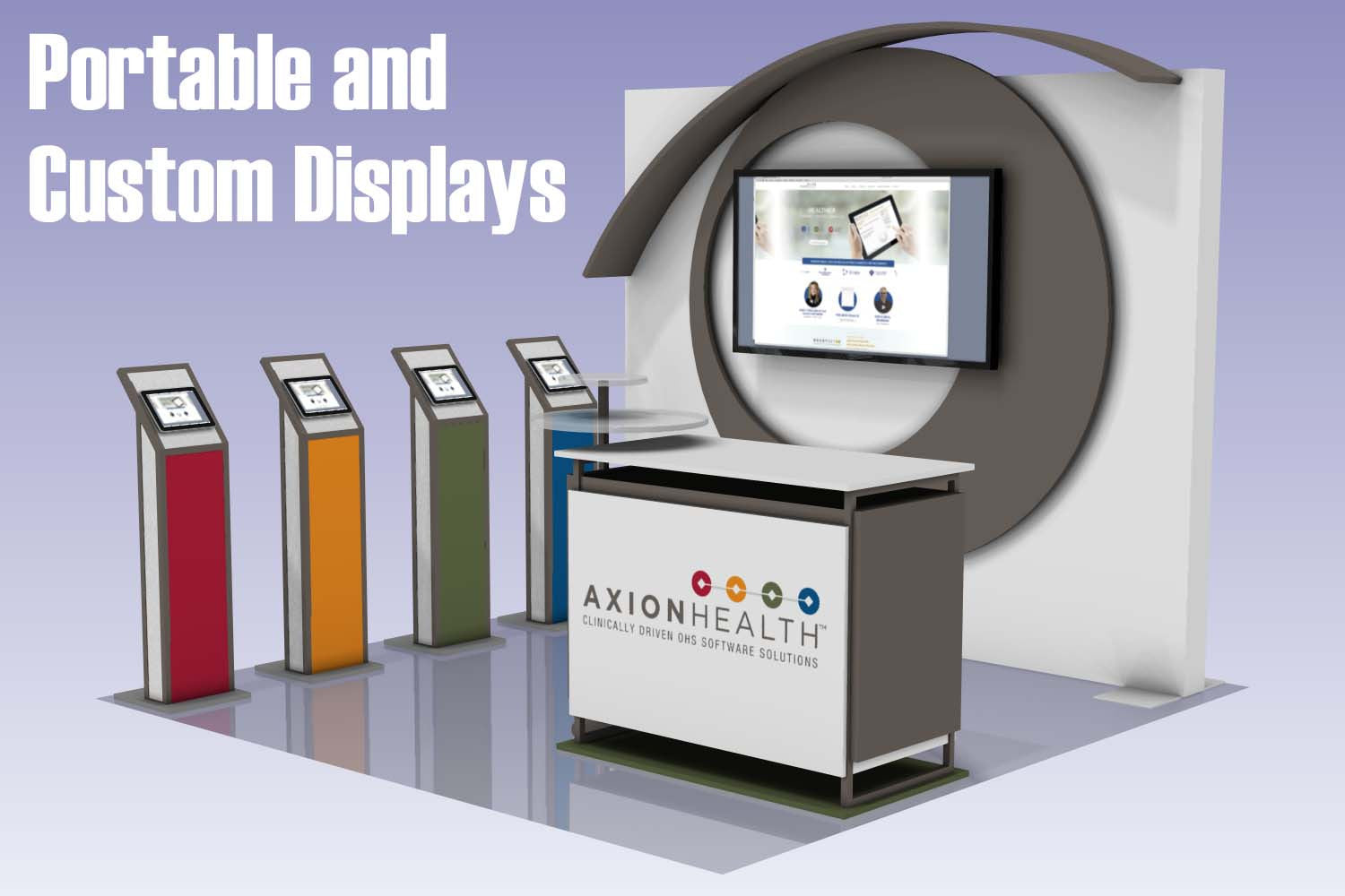 Trade Show Booth Objectives : Trade show displays booths exhibits ideas u godfrey group