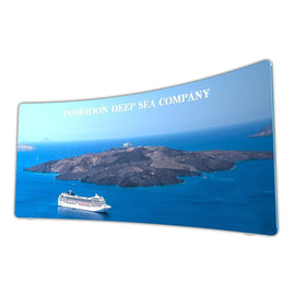 20' Curved Tension Fabric Display - Godfrey Group