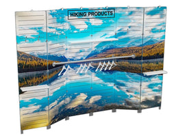 10' Printed Slatwall Display - Godfrey Group
