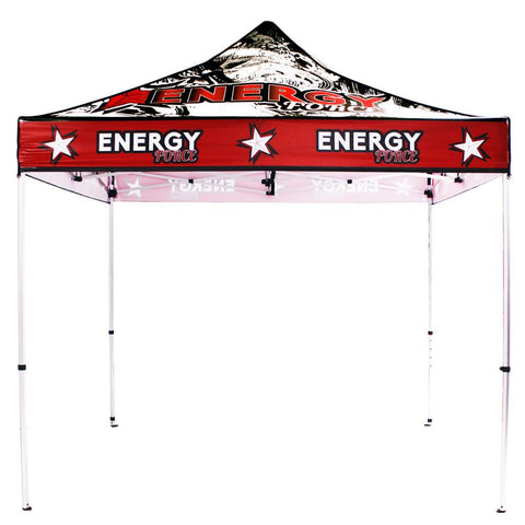 10' Full Color UV Printed Pop Up Tent