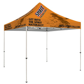 Premium Dye Sub Printed 10' x 10' Pop Up Tent
