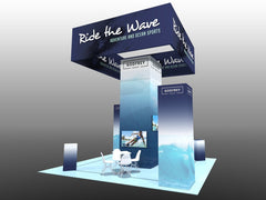 20 x 20 Exhibit Package (Standard or Backlit)