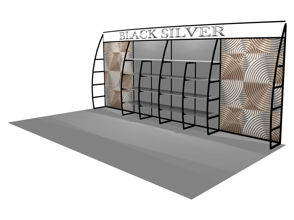 Exhibition Stand With Shelves : Trade show shelving unit trade show exhibition stand u godfrey group