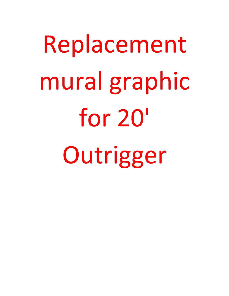 Replacement Mural graphic for 20' OutRigger Display - Godfrey Group