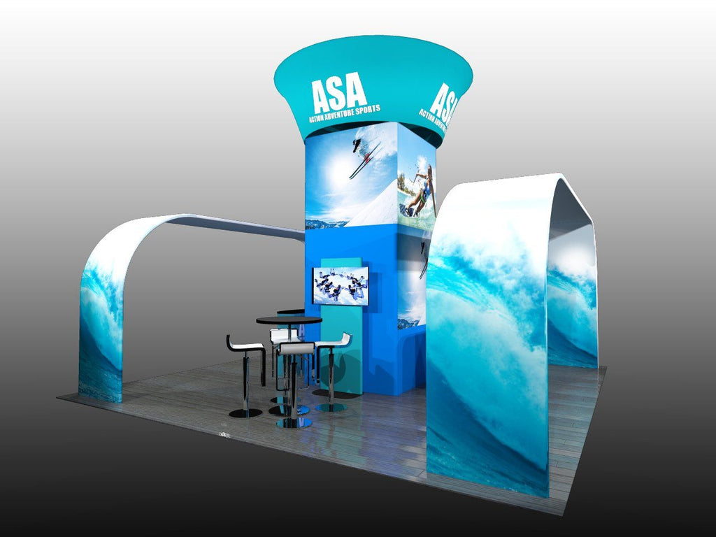 20 x 20 Exhibit Package