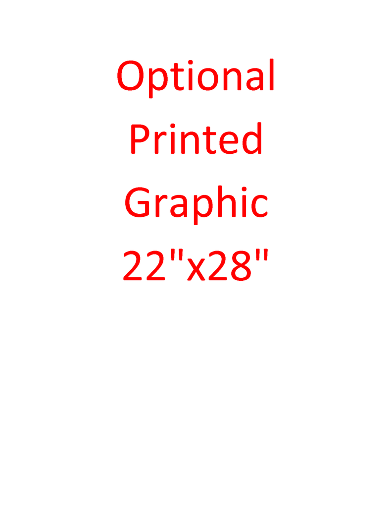 Full color lexan laminated graphic, 22