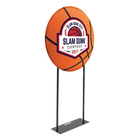 Circular Back Wall or Banner Stand Display - 3' diameter