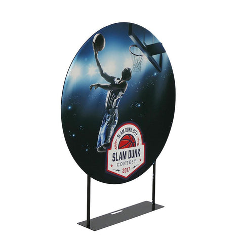 Circular Banner Stand Display, 5' Diameter