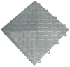 Interlocking Plastic Floor Tiles (Diamond and Coin Patterns)