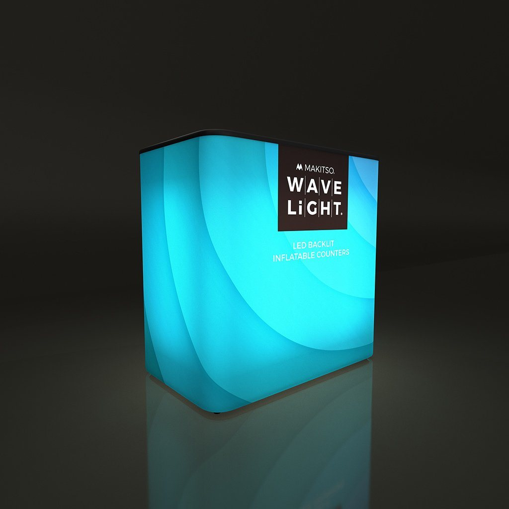 WaveLight Backlit Inflatable Counters - Available in Four Shapes