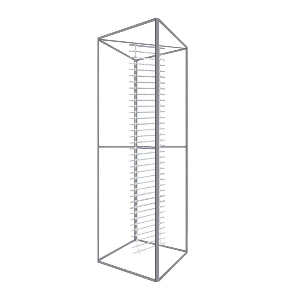 Backlit Four Sided Tower - frame only