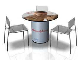 Conference style portable trade show table