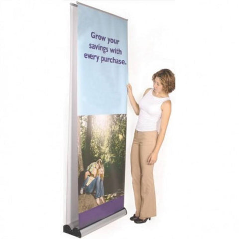 "36"" Wide Double Sided Retractable"