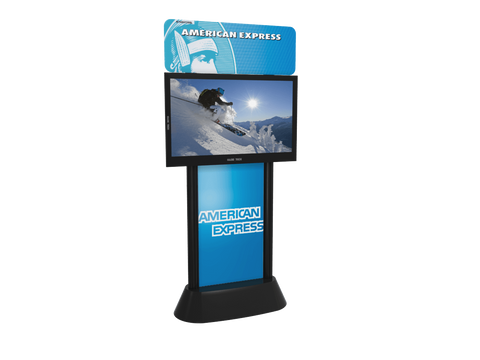 Digital Video Kiosk with Graphics